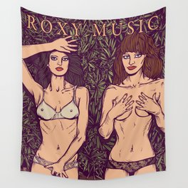 ROXY MUSIC - Country Life Wall Tapestry