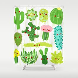 Succulent, succulent, succulent Shower Curtain