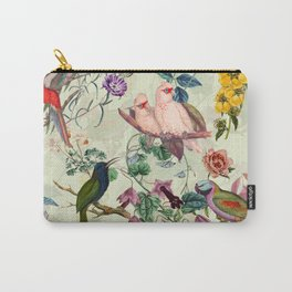 Floral and Birds VIII Carry-All Pouch