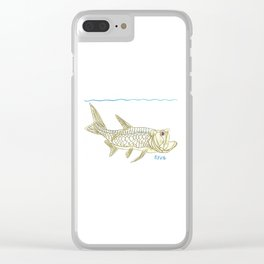 Key West Tarpon II Clear iPhone Case