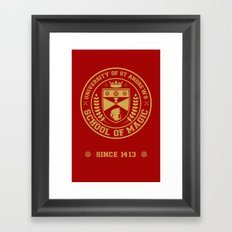 The Student Prince -  University of St Andrews School of Magic Framed Art Print