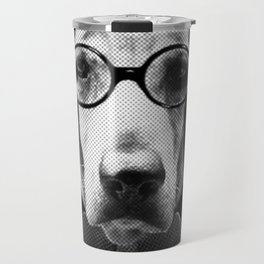 Mr Italian Bloodhound the Hipster Travel Mug