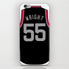 Delon Wright Jersey iPhone Skin