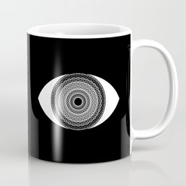Stare Into The Abyss Coffee Mug