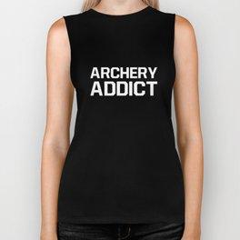 Archery Addict Sportsman Hunter Outdoorsman T-Shirt Biker Tank