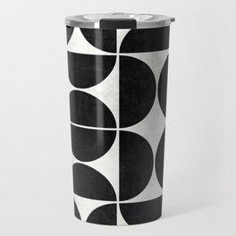 Mid-Century Modern Pattern No.3 - Concrete Travel Mug