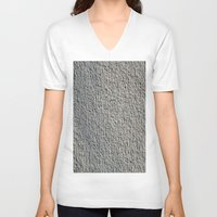 gray V-neck T-shirts featuring GRAY by Manuel Estrela 113 Art Miami