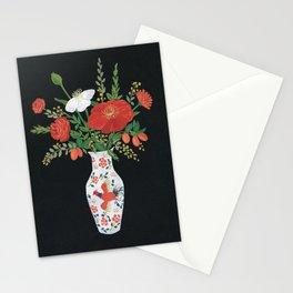 Chinese vase Stationery Cards