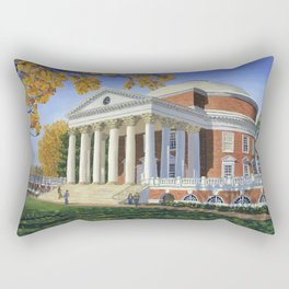 The Rotunda, UVA Rectangular Pillow