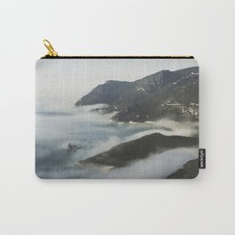 Misty ocean by the mountains Carry-All Pouch