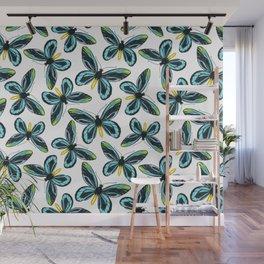 Queen Alexandra' s birdwing butterfly pattern design Wall Mural