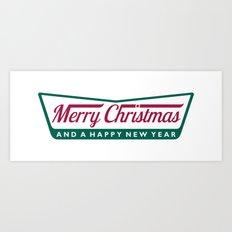 Have A Merry Krispy Christmas Art Print