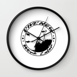 Funny Saying For Diving Instructors Wall Clock