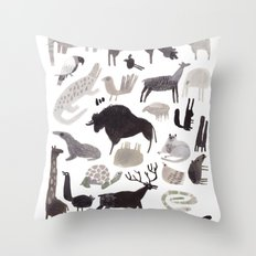 animaletti Throw Pillow