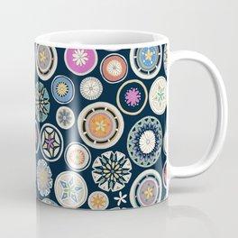 pango mandala indigo Coffee Mug