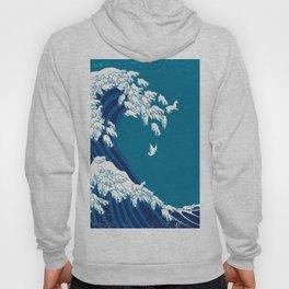 Waves Llama Hoody