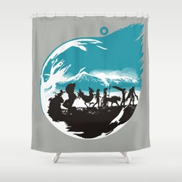 FELLOWSHIP OF THE FANTASY Shower Curtain