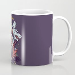 The Wolf Princess (Purple) Coffee Mug