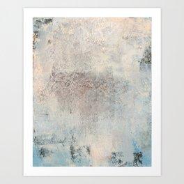 pastel & textured Art Print