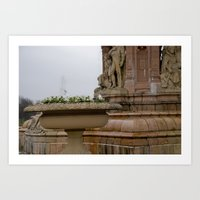 Fountain at People's Palace Art Print
