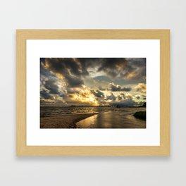Golden Summer Evening Framed Art Print