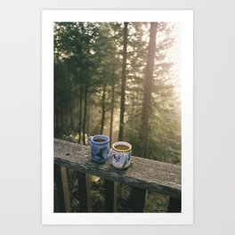 One More Cup Of Coffee Art Print
