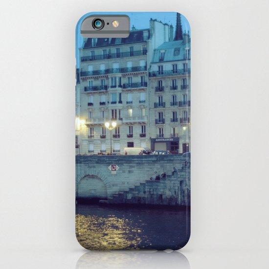 Paris by Night: Ile de la Cite iPhone & iPod Case