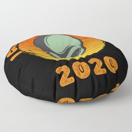 I Came To Earth In 2020 UFO Alien Floor Pillow