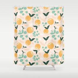 orange floral shower curtain. Fruit Floral Shower Curtains Society6 Orange Curtain  Showers Flowers