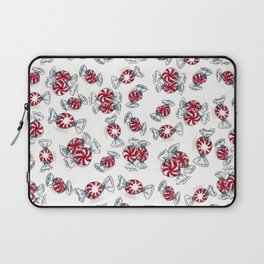 Holiday Peppermints Laptop Sleeve