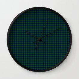 Johnston Tartan Wall Clock