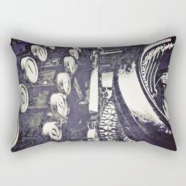 speed test {purple Rectangular Pillow