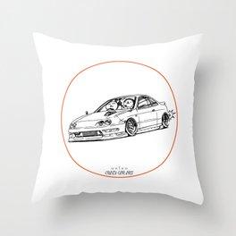 Crazy Car Art 0193 Throw Pillow