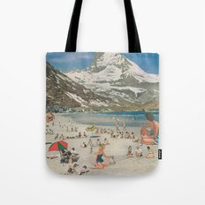 Matterhorn beach Tote Bag