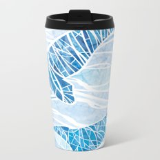 Two Whales Metal Travel Mug