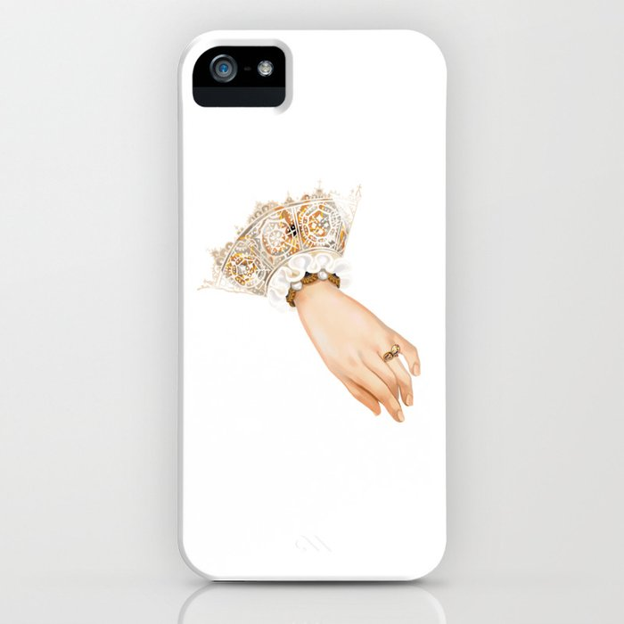 Chequer's Ring of Elizabeth I iPhone Case