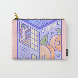 Peach Motel Carry-All Pouch