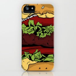 Cheeseburger iPhone Case