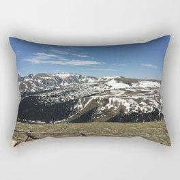 Colorado Mountain View Rectangular Pillow