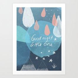 Good Night Little One Art Print