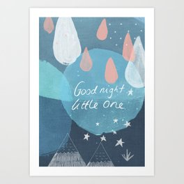 Good Night Little One Art Print