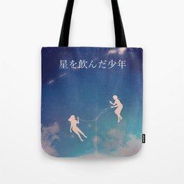Strings of Fate Tote Bag
