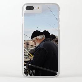 Fishing at Halic Clear iPhone Case