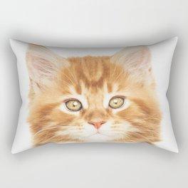 Ginger Kitten Rectangular Pillow
