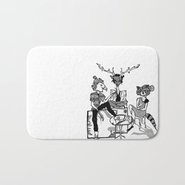 FOREST FOLK Bath Mat