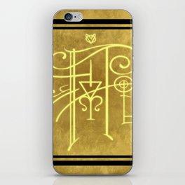 Sigil of Hufflepuff iPhone Skin
