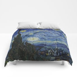 The Starry Night Comforters
