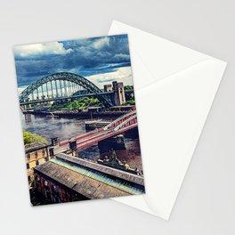Newcastle upon Tyne city art #newcastle #england Stationery Cards