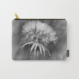 Tick Tock Dandelion Clock Carry-All Pouch