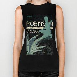 Books Collection: Robinson Crusoe Biker Tank